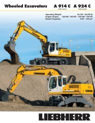 A 924 C Wheeled Excavators A 914 C