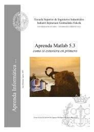 Matlab 5.3 - Tecnun