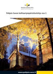 pdf, 11 Mt, 383 s. - Pohjois-Savon liitto