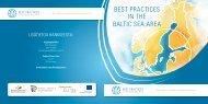 Best Practices in the Baltic Sea Area hankkeen esite