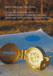 directorio de catalunya >investigación privada - Togas.biz