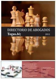 DIRECTORIO DE ABOGADOS Togas.biz