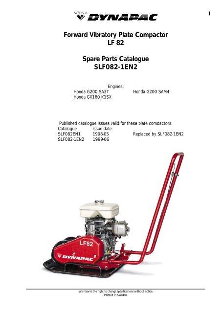 honda g200 parts manual