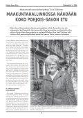 Savo Sinuksi 1/2004 - Pohjois-Savon liitto - Page 4
