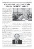 Savo Sinuksi 1/2004 - Pohjois-Savon liitto - Page 7