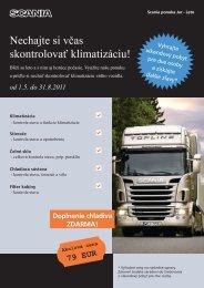 Nechajte si včas skontrolovať klimatizáciu! - Scania