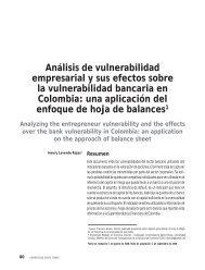 Análisis de vulnerabilidad empresarial y sus efectos sobre la ...