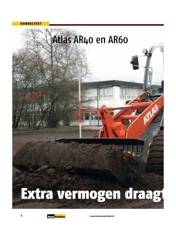 Download het test rapport van 2010-8 (PDF) - BouwMachines.nl