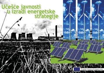 Ucesce javnosti u izradi energetske strategije - Ekologija.ba