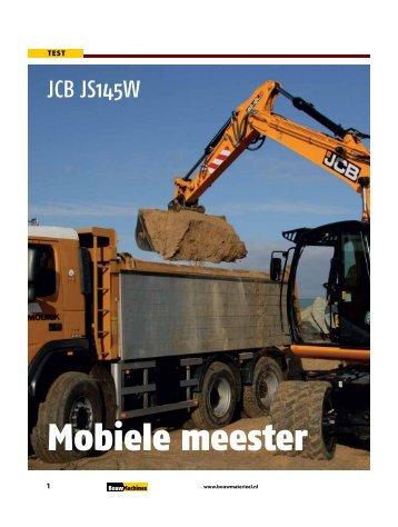 Download het test rapport van 2011-01 (PDF) - BouwMachines.nl