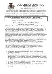 oggetto: conferimento di incarico di collaborazione coordinata e ...