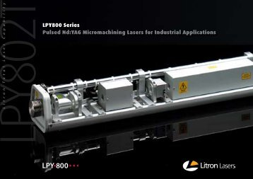 full specification on this range - Litron Lasers
