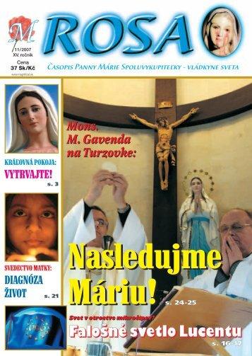 M-ROSA 11/07 - Magnificat