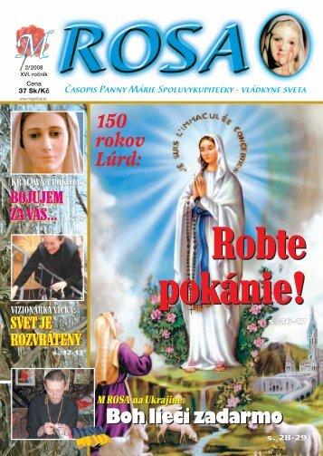M-ROSA 02/08 - Magnificat