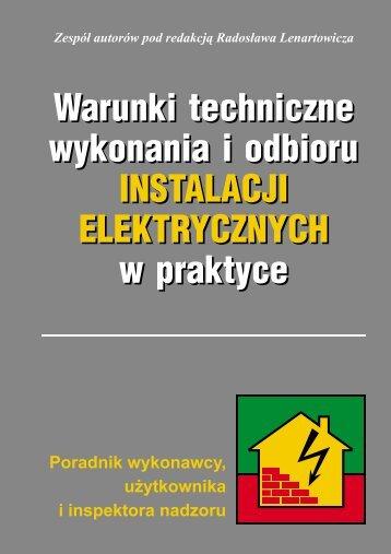Warunki techniczne wykonania i odbioru ... - Verlag Dashofer