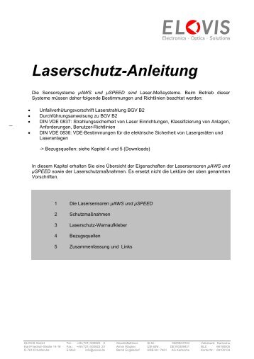 Herunterladen - Elovis GmbH