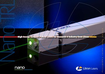 High Energy Compact Pulsed Lasers for Research ... - Photon Lines