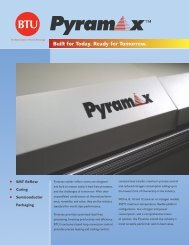 Pyramax reflow ovens specifications - CORE-emt A/S