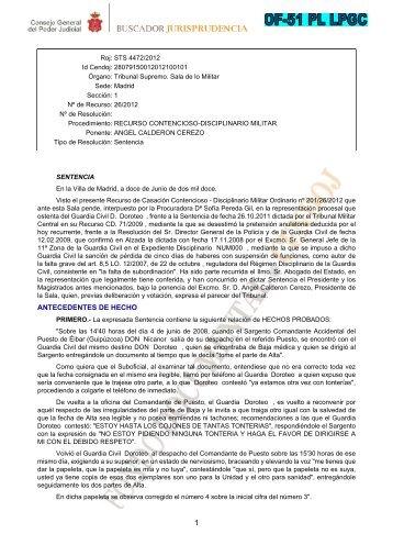 ANTECEDENTES DE HECHO - El abogado del Policia Blog