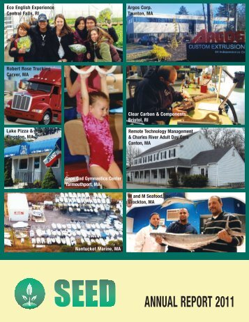 ANNUAL REPORT 2011 - SEED Corp
