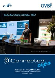 Early Bird closes 5 October 2012 - Australian Institute of ...