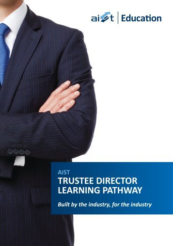 trustee director learning pathway - Australian Institute of ...