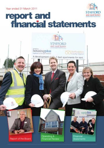 Financial Statement 10/11 - Stafford and Rural Homes