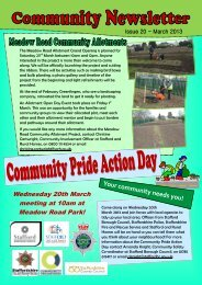 Penkside Newsletter - March 2013 - Stafford and Rural Homes