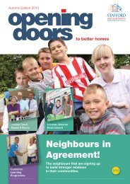 Opening Doors - Autumn 2010 - Stafford and Rural Homes