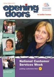 Opening Doors - Winter 2011 - Stafford and Rural Homes