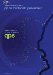 Quadro propositivo con valenza strategica - Provincia Regionale di ...