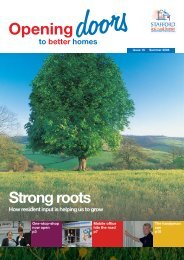 Opening Doors - Summer 2008 (1.3mb) - Stafford and Rural Homes