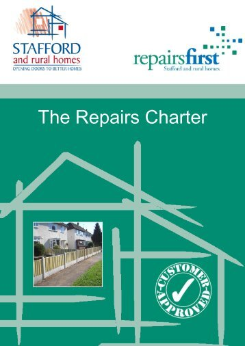 The Repairs Charter (575.7kb) - Stafford and Rural Homes