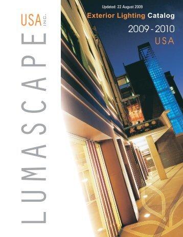 USA Catalog 2009-2010 - Lumascape