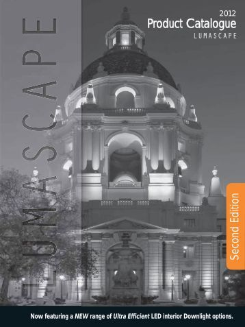 Lumascape Product Catalogue 2012 Second Edition