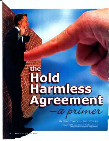 Hold Harmless Agreements.pdf
