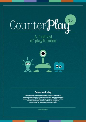 CounterPlay '15 - A festival of playfulness