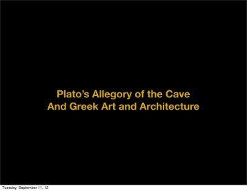 Detour through Plato's Cave