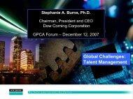 Global Challenges: Talent Management