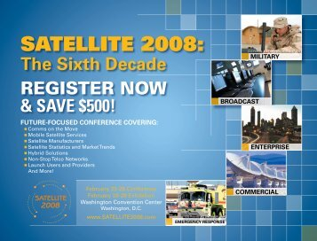 SATELLITE 2008: - Order Newsletter page