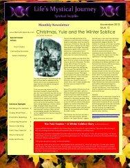 November 2012 - Life's Mystical Journey