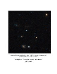 April Newsletter.pdf - Longmont Astronomical Society
