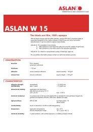 ASLAN W 15