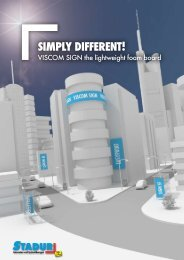 SIMPLY DIFFERENT! - Stadur Produktions GmbH & Co. KG