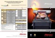 High precision UV LED printer...