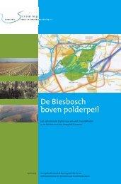De Biesbosch boven polderpeil - Stroming