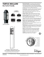 N5610981G Turtle Bollard Spec Sheet.indd - Phoenix Products