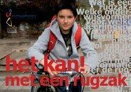Een leerling met een beperking op school - Ouders en Rugzak