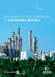 Developing the next generation of SUSTAINABLE BIOFUELS - Camo