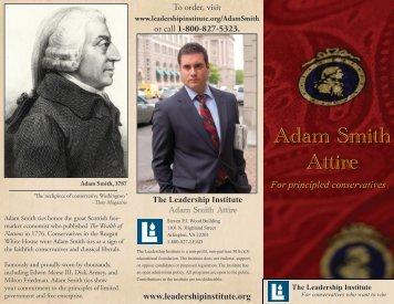 Adam Smith Attire - The Leadership Institute